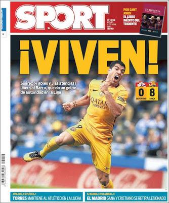 Portada Sport: Viven