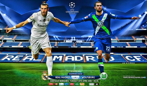 Real Madrid-Wolfsburgo: alineación y previa. Cuartos Champions 2016 (vuelta)