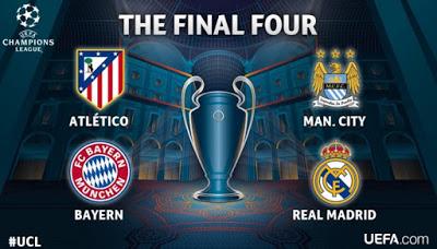 Sorteo de Semifinales de final Champions Legue 2016