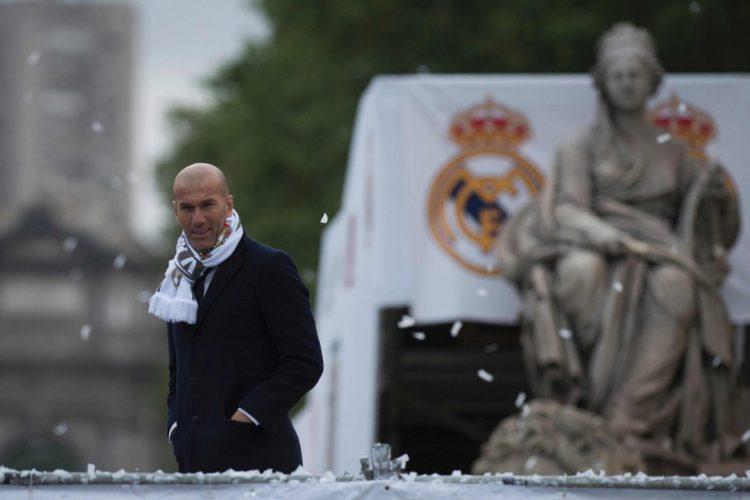 Festejos Undécima Cibeles Zinedine Zidane