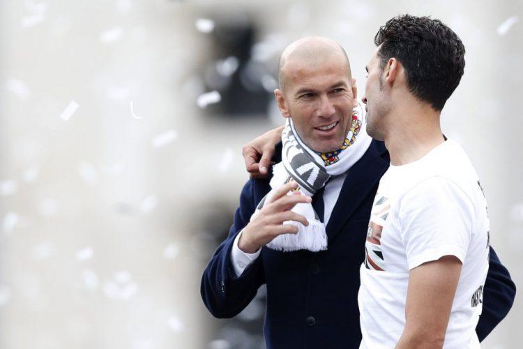 Festejos Undécima Cibeles Zidane y Arbeloa