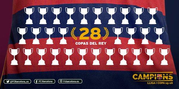 imagenes barcelona campeon copa rey 2016