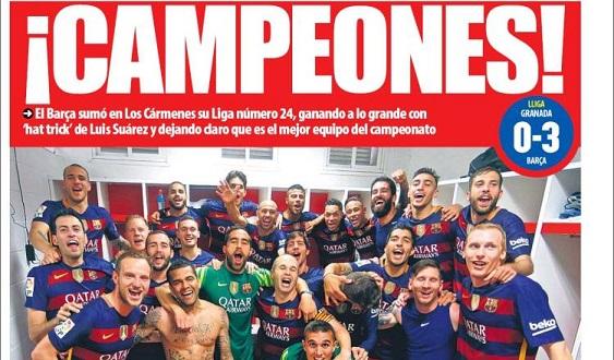 barcelona campeon 2016