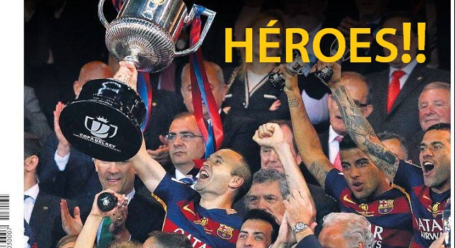 barcelona copa rey 2016 campeon