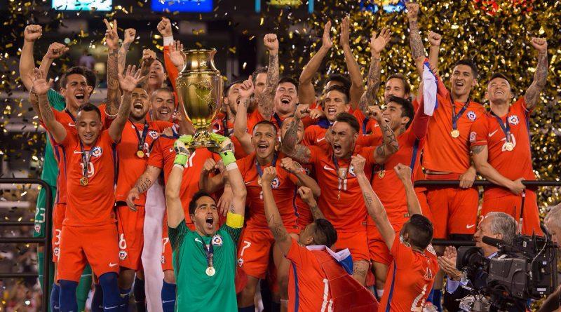 Chile Campeón Copa América 2016