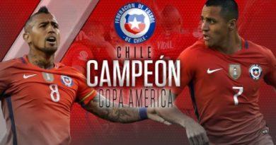 CHILE CAMPEÓN DE LA COPA AMÉRICA 2016