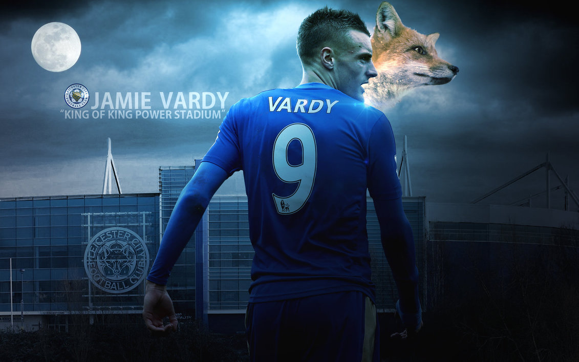 Jamie Vardy Goal Machine 2016