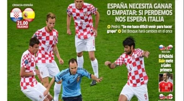 España Croacia Eurocopa