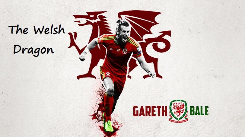 Gareth Bale Dragón galés