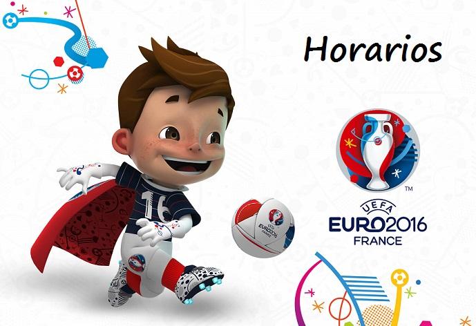 Horarios Euro 2016