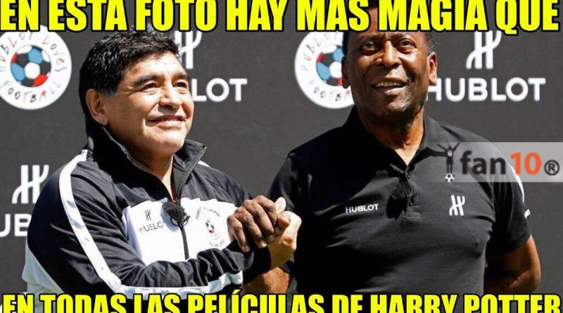memes copa america centenario maradona pele