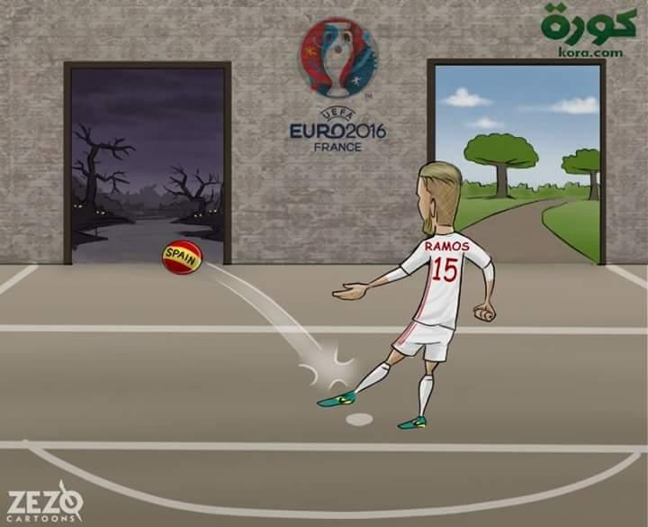 Memes Eurocopa 2016 sergio ramos