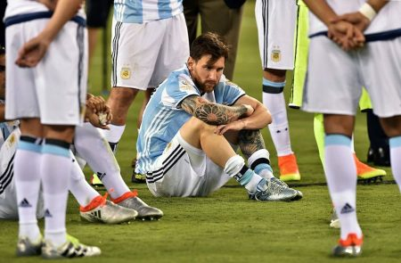 messi derrotado copa america 2016 final chile