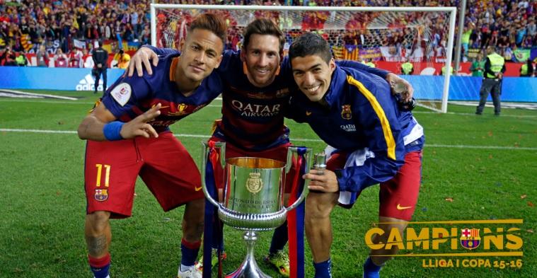 Messi Suarez Neymar 2016