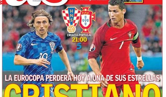 Cristiano-Modric Eurocopa
