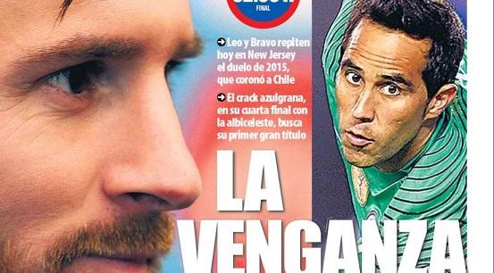 La venganza de Messi