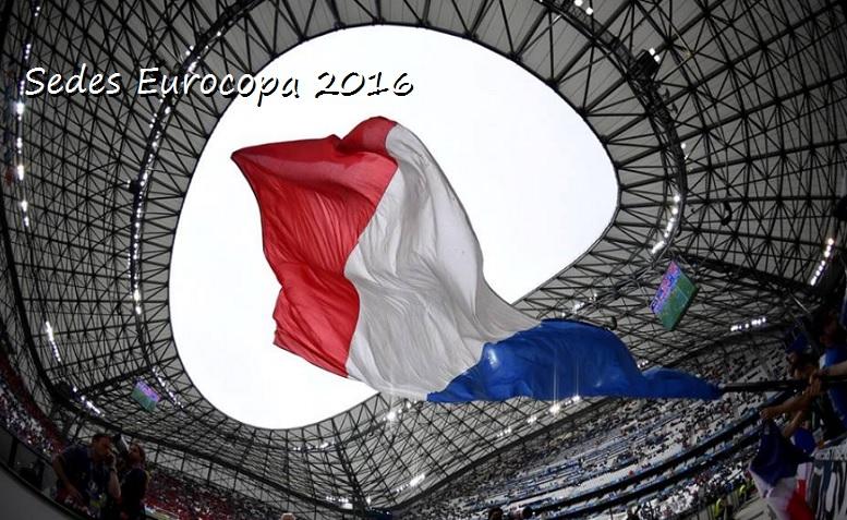 Sedes Eurocopa 2016
