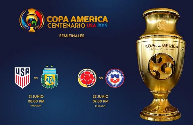 semifinales Copa América 2016