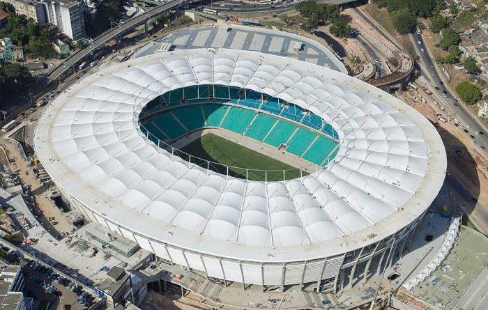 Estadio arena fonte nova salvador de bah a juegos for Estadio arena