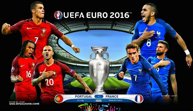 Final Eurocopa Portugal-Francia