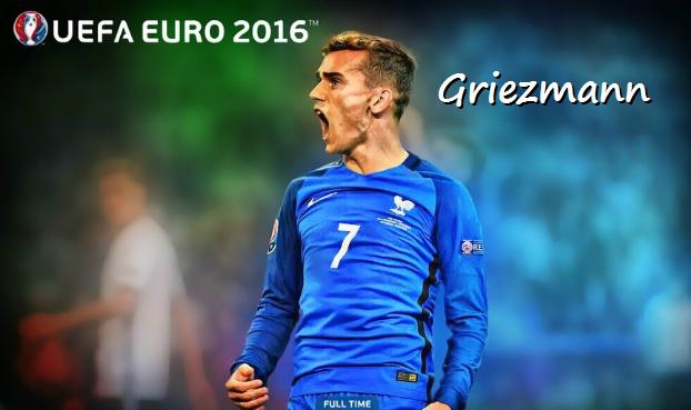 Griezmann Eurocopa 2016