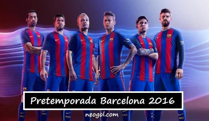 Pretemporada Barcelona 2016