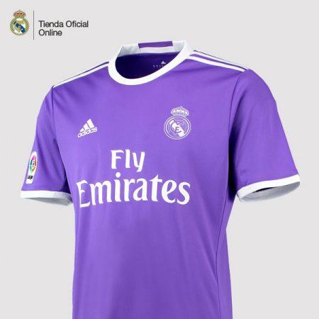 nueva camiseta oficial del real madrid