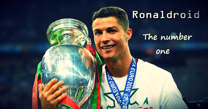 Ronaldroid Cristiano Ronaldo