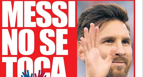 Messi no se toca