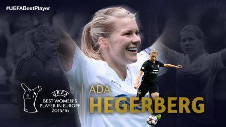 Ada Hegerberg mejor jugadora de 2016