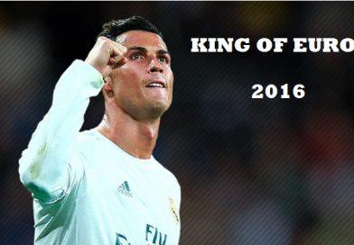 Cristiano Ronaldo Rey de Europa 2016