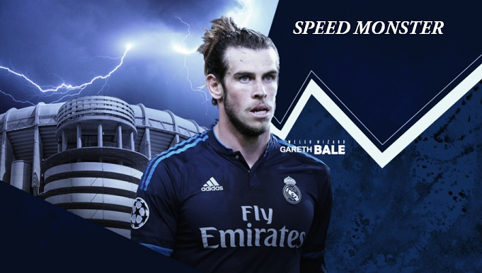 Gareth Bale Speed Monster