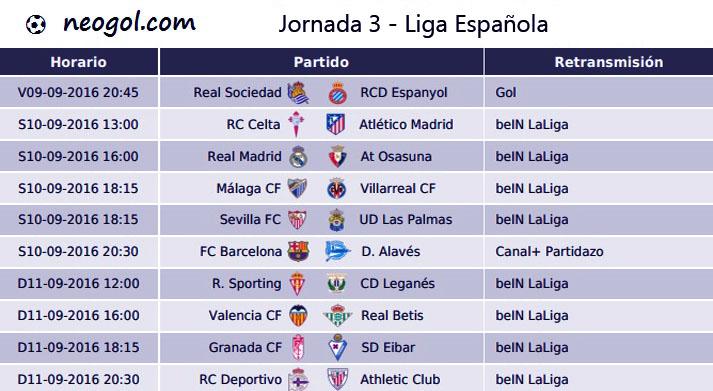 liga española 2016 laliga santander agosto 3 2016 agosto 3 2016 ...