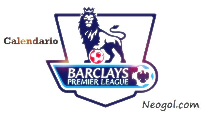 Calendario Premier League 2016-2017 liga inglesa de fútbol