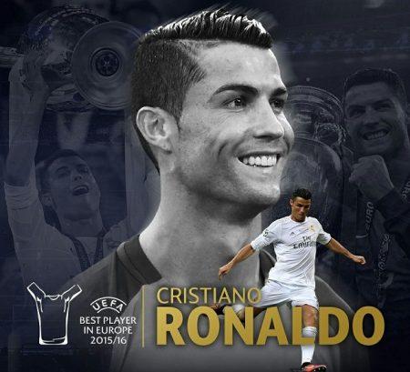 Cristiano Ronaldo UEFA Best Player 2016