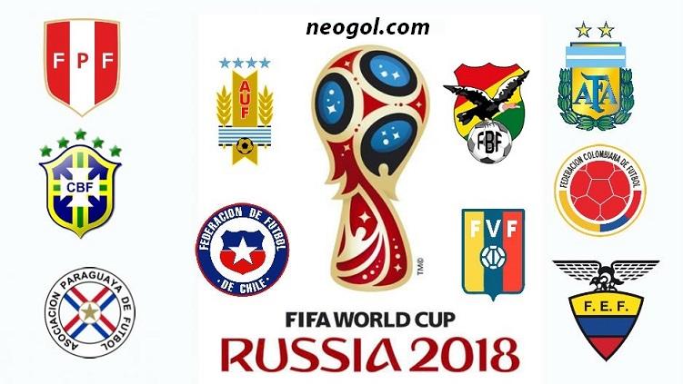 Eliminatorias Rusia 2018 Fecha 7