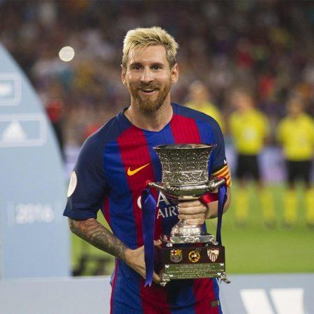 Leo Messi Supercopa de España 2016