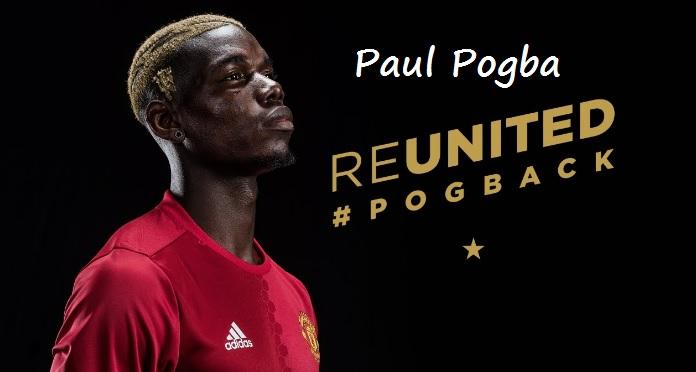 Paul Pogba Pogback manchester united