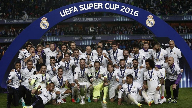 Real Madrid Campeón Supercopa Europa 2016