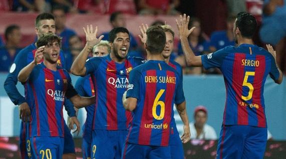 Sevilla Barcelona Supercopa 2016