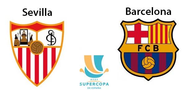 Sevilla-Barcelona Supercopa 2016