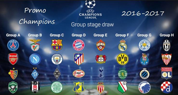 Promo UEFA Champions League 2016-17