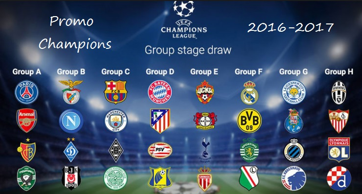 Liga Mistrzów: Promo UEFA Champions League 2016-17