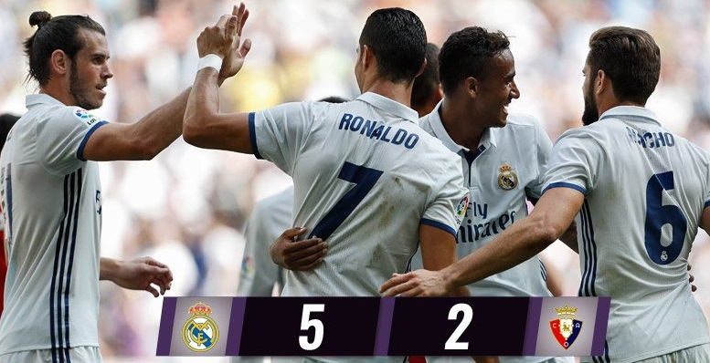 Real Madrid 5-Osasuna 2