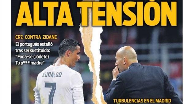 Cristiano vs Zidane