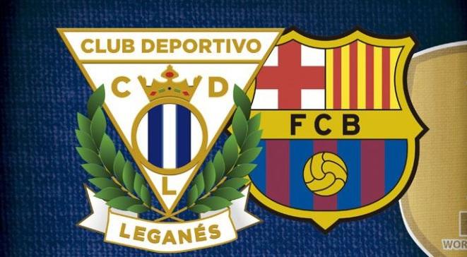 Alineación Leganés-Barcelona