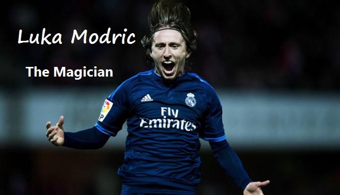 Luka Modric The Magician