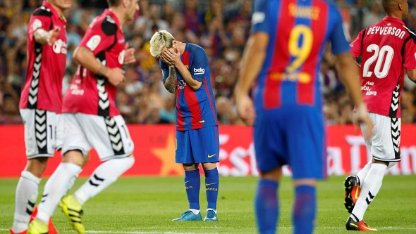 Barcelona 1-Alavés 2 2016