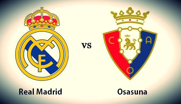 Alineación Real Madrid-Osasuna