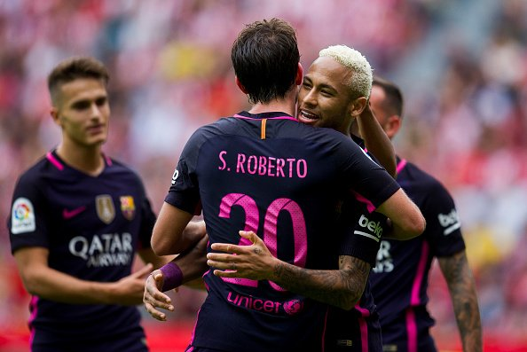 Sporting-Barcelona 2016 neymar